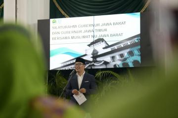 Ridwan Kamil Diminta Gubernur Jatim Desain Masjid Islamic Center Surabaya