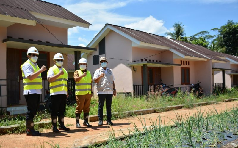 Dirjen Perumahan PUPR Tinjau Pembangunan Rumah Terdampak Proyek Bendungan Kuningan