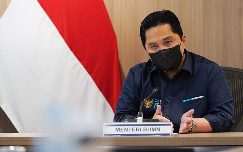 Erick Thohir Tegaskan Bank Himbara Siapkan Delapan Klaster KUR di Sektor Pertanian