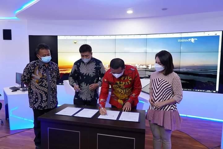 Mendukung Sumedang SIMPATI, Pemkab Teken PKS dengan Yayasan Sahabat Desa SDGs Mandiri