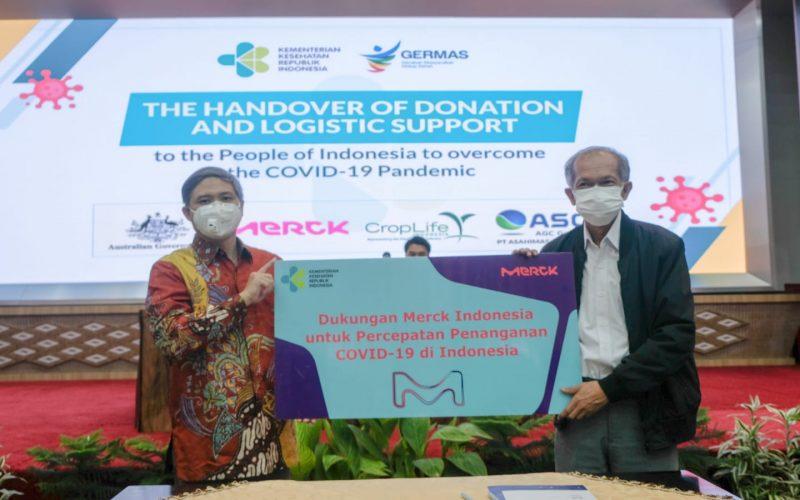 Merck Salurkan Bantuan Ambulans dan Alkes, Dukung Pemerintah Tangani Covid-19