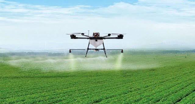 Inovasi Pertanian di Indramayu, Gunakan Drone untuk Semprot Padi